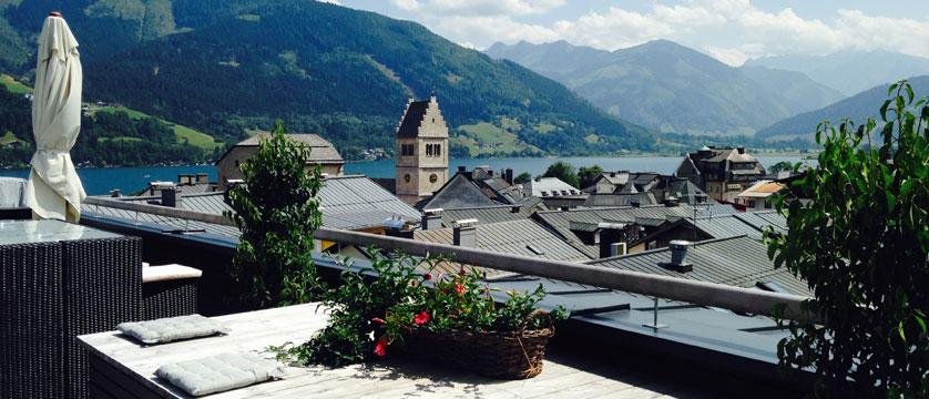 Hotel Heitzmann, Zell am See, Austria - Rooftop terrace view.jpg